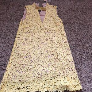Yellow Blu Pepper lace dress 🌻